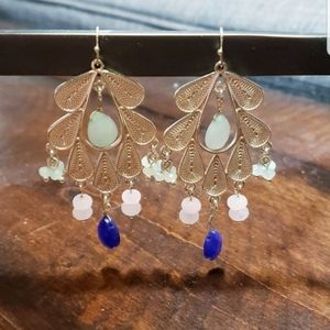 Anthropologie Bead Earrings